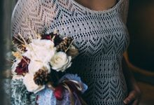 Aldila Maternity Shoot by Garland Galore Flower Shop
