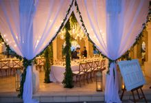 Greenery Indoor Wedding Decoration by Bali Izatta Wedding Planner & Wedding Florist Decorator
