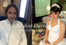 Make up hair do by Josi david  by Josi David Professional & Wedding Make up Artist