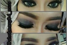 Bride Makeup by SHABEASY MUA & WO