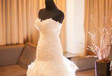 The wedding ceremony of Pingkan & Ferdhian by Kyria House of Bride