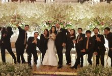 Gabriel & Christine Wedding Day at Shangrila Hotel by One Group Entertainment & Organizer