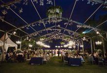 Blue & Glamorous by Flora Botanica Designs