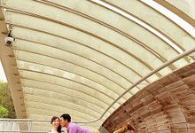 David + Luciana Singapore Prewedding by Picstory Photography