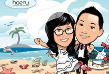 Premium Wedding Caricature by haeru Animation and Caricature