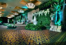 Beautiful Natural Lighting of the Wedding Grace & Geofrey by Etcetera Lighting