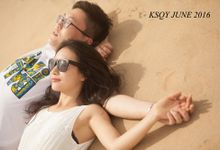 Mr and Ms Ou by ksqy photography