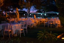 A summer night reception by BELLAVITA WEDDING, Italian wedding creators