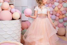 Flower Girl dresses by kingdom.boutique