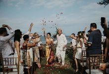 Nagisa Bali Wedding for Sacha & Ana by Nagisa Bali