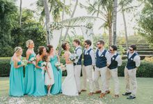 Bali Wedding Petter and Nichola at Villa Chalina by StayBright