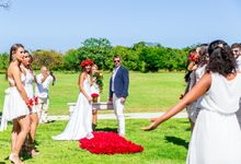 Catherine & Leonardo Destination Wedding in Private Villa by Jennifer C  Wedding & Event Agency