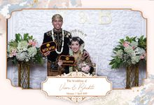Viera & Bhakti Wedding by Foto moto photobooth