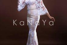 "White Gown ""ANASTASIA"" by KANAYA Kebaya & Bridal"