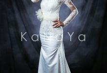 "WHITE GOWN ""ALICIA"" by KANAYA Kebaya & Bridal"