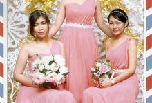 Wedding TONNY & CYNTHIA by Beautyline Usher & Pagar Ayu