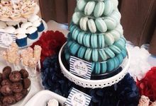 Dessert Table by Amore Macarons
