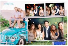 GEO and JAM WEDDING by Happyshots Photobooth Cebu