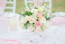 Pink and Sweet Small Wedding by Flora Botanica Designs