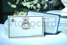 Daniel & Yossie by Toho Cards