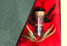 Custom Personalized Tumbler by Art Never Sleeps
