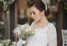 The Wedding of Rendi & Gratika by makeupbyyobel