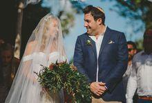 Backyard Jewish Wedding by Flora Botanica Designs