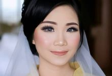 Kevin & Chrisya Wedding by Sheila Kho Makeup