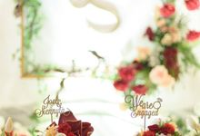 The engagement of Joel & Siennyta by Farine Pastry