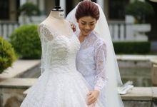 Cynthina Nathania Wedding by Kimono_ku