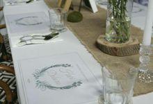 Wedding Lunch of Hari & Debora by Blue Jasmine Restaurant