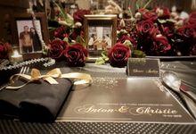 ANTON & CHRISTIE Anniversary by SYV Studio