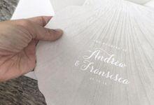 Seashell beach Invitation by Pensée invitation & stationery