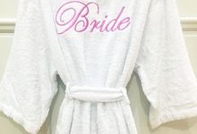 Towel and Towel Robe by dydx Bride