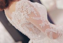 In search of the dream wedding gown by Cang Ai Wedding