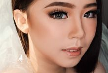 Makeup wedding for Ms Martha by Rere Hou Make-Up Art