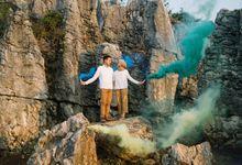 Hansa & Byan Prewedding at Stone Garden by Warna Project