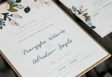 Fransiska & Abraham (Rustic) by Letterspace Inc.