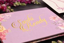 Sashi & Rendy's Wedding Invitation by Hiraloka