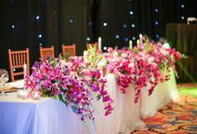 Glamorous Purple by Flora Botanica Designs
