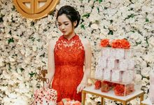 The Engagement of Edwin & Diana by Farine Pastry