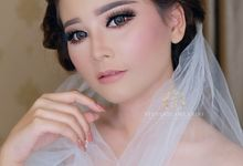 Wedding of Ms. Citra by StevOrlando.makeup