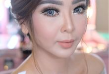 Sister Of Bride Makeup For Ms. Priskilla by StevOrlando.makeup