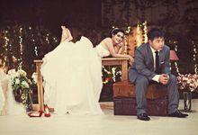 Vina + Alip Pre Wedding by Moisel Makeup