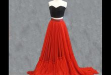 Red Gown collection by iLook ( Makeup & Couture )