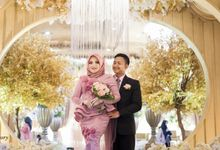 Wedding Day Rirri + Gusti by A Story