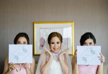 Steven & Yovita's Wedding by Roopa