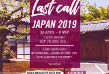 Japan Open Trip 28 Apr - 8 May 2019 by Dfleur Photography