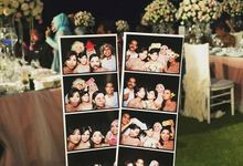 Donnabella and Johansens Wedding by Bali Snapz Photobooth
