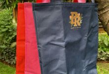 Wedding Souvenir Customized Tote Bag by KARNA GIFT